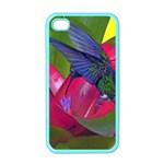 1hummingbird Flower 615 Apple iPhone 4 Case (Color)