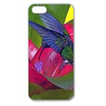 1hummingbird Flower 615 Apple Seamless iPhone 5 Case (Clear)