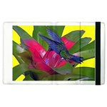 1hummingbird Flower 615 Apple iPad 3/4 Flip Case