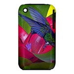 1hummingbird Flower 615 Apple iPhone 3G/3GS Hardshell Case (PC+Silicone)