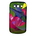 1hummingbird Flower 615 Samsung Galaxy S III Classic Hardshell Case (PC+Silicone)