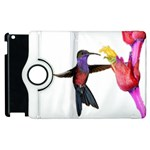 Purple Throated Hummingbird Apple iPad 3/4 Flip 360 Case