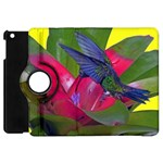1hummingbird Flower 615 Apple iPad Mini Flip 360 Case