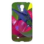 1hummingbird Flower 615 Samsung Galaxy S4 I9500/I9505 Hardshell Case