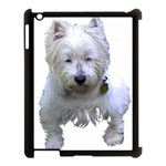 Westie Apple iPad 3/4 Case (Black)