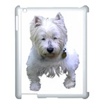Westie Apple iPad 3/4 Case (White)