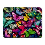 Rainbow of Butterflies Small Mousepad