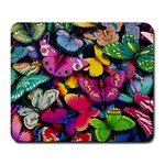 Rainbow of Butterflies Large Mousepad