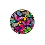 Rainbow of Butterflies Hat Clip Ball Marker (4 pack)