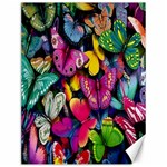 Rainbow of Butterflies 1 Canvas 12  x 16