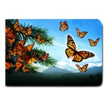 Monarchs in Flight Large Doormat