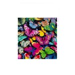 Rainbow of Butterflies Memory Card Reader (Rectangular)