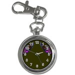 Purple Hummingbird Key Chain Watch