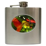 Butterfly Hip Flask (6 oz)