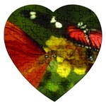 Butterfly Jigsaw Puzzle (Heart)