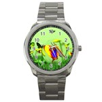 Butterfly Fish Sport Metal Watch