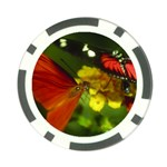 Hummingbird and Butterfly Poker Chip Card Guard (10 pack)