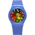 Butterfly Round Plastic Sport Watch Small