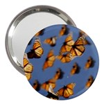 Butterfly 3  Handbag Mirror