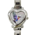 Wood Nymph Heart Italian Charm Watch
