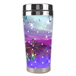 Star light of Butterflies Stainless Steel Travel Tumbler