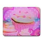 Cupcakes Covered In Sparkly Sugar Small Mouse Pad (Rectangle)