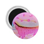 Cupcakes Covered In Sparkly Sugar 2.25  Button Magnet