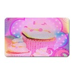 Cupcakes Covered In Sparkly Sugar Magnet (Rectangular)