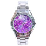 Starlight Of Butterflies Stainless Steel Analogue Men's Watch
