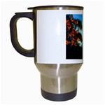Flight Of The Butterflies Travel Mug (White)