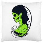 Day Of The Dead Large Cushion Case (Two Sides)