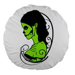 Day Of The Dead 18  Premium Round Cushion