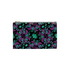 Floral Arabesque Pattern Cosmetic Bag (small)