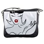 Pin Up Messenger Bag