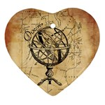 Discover The World Heart Ornament