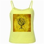 Discover The World Yellow Spaghetti Tank
