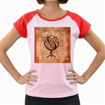 Discover The World Women s Cap Sleeve T-Shirt (Colored)