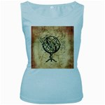 Discover The World Women s Tank Top (Baby Blue)