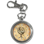 Discover The World Key Chain Watch