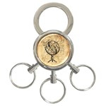 Discover The World 3-Ring Key Chain