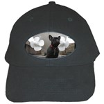 French Bulldog Black Baseball Cap