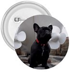 French Bulldog 3  Button