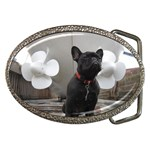 French Bulldog Belt Buckle (Oval)
