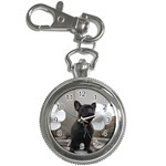 French Bulldog Key Chain Watch