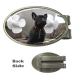 French Bulldog Money Clip (Oval)