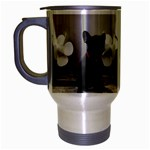 French Bulldog Travel Mug (Silver Gray)