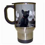 French Bulldog Travel Mug (White)