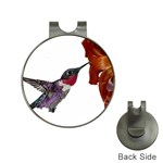 Ruby Throated Hummingbird Golf Ball Marker Hat Clip