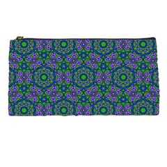 Retro Flower Pattern  Pencil Case by SaraThePixelPixie