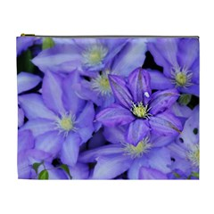 Purple Wildflowers For Fms Cosmetic Bag (xl) by FunWithFibro